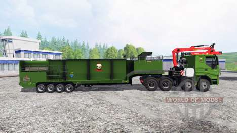 Iveco Stralis [wood chippers] v1.2 para Farming Simulator 2015
