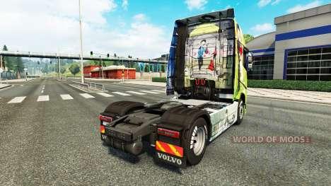 Peynet pele para a Volvo caminhões para Euro Truck Simulator 2