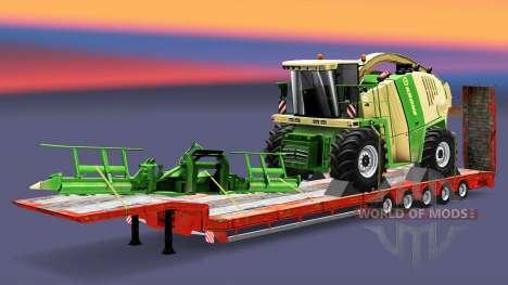 Baixa varrer com os bens v3.1 para Euro Truck Simulator 2