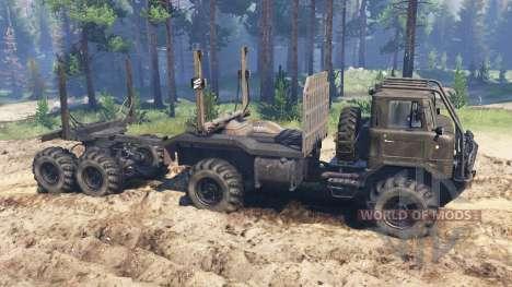 GAZ-66 Veículo todo o terreno para Spin Tires