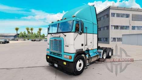 A pele de Bebê Azul caminhão Freightliner FLB para American Truck Simulator