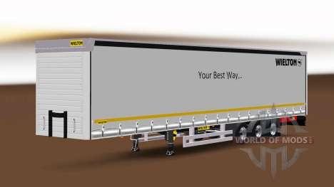 Cortina semi-reboque Wielton v1.1 para Euro Truck Simulator 2