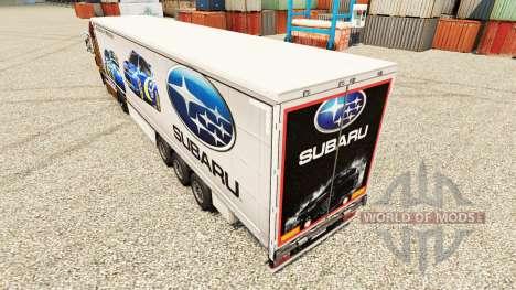 Pele Subaru semi para Euro Truck Simulator 2