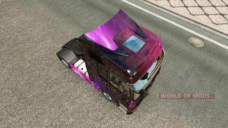 Pele Weltall na unidade de tracionamento Mercede para Euro Truck Simulator 2