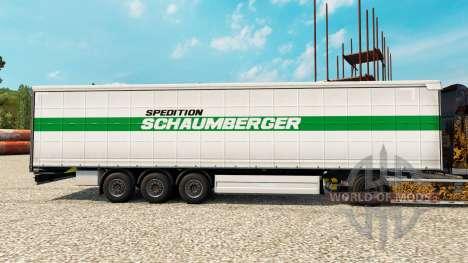 Schaumberger Spedition pele para reboques para Euro Truck Simulator 2