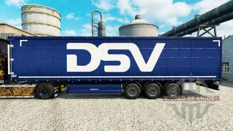 DSV pele para reboques para Euro Truck Simulator 2
