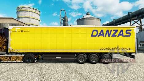 Pele Danzas Logística para reboques para Euro Truck Simulator 2