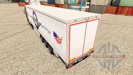 Pele American Truck Promoção para reboques para Euro Truck Simulator 2