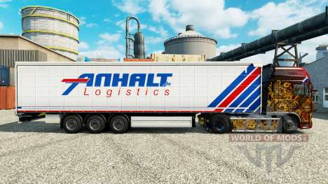 Pele Anhalt Logistics GmbH na semi para Euro Truck Simulator 2