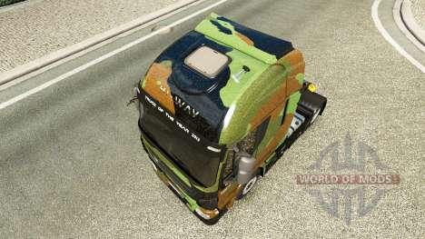 Camo pele para Iveco unidade de tracionamento para Euro Truck Simulator 2