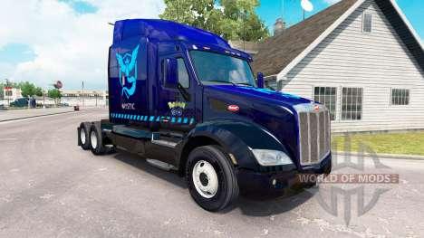 Mystic pele para o caminhão Peterbilt 579 para American Truck Simulator