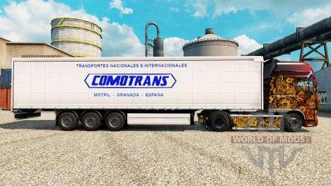 Pele ComoTrans para reboques para Euro Truck Simulator 2