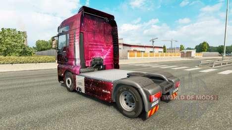 Pele Weltall no caminhão HOMEM para Euro Truck Simulator 2