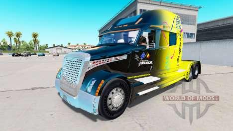 Pele Vanderoel em um Caminhão Conceito caminhão  para American Truck Simulator