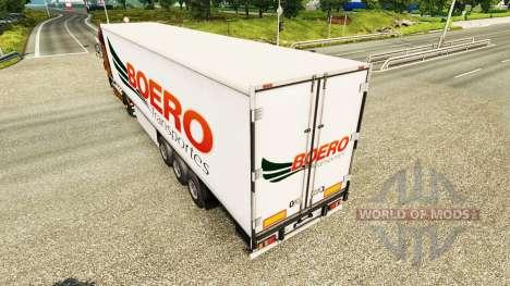 Boero Transportes pele para reboques para Euro Truck Simulator 2