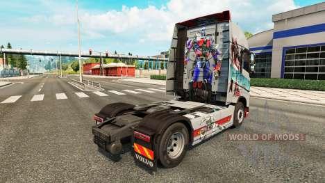Transformadores de pele para a Volvo caminhões para Euro Truck Simulator 2