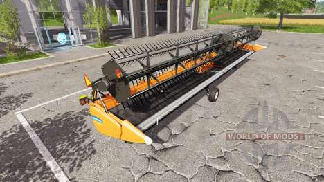 New Holland SuperFlex Draper 45FT multicolor para Farming Simulator 2017