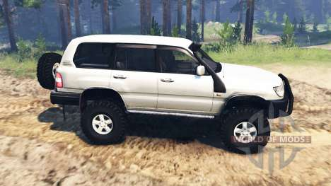 Toyota Land Cruiser [pack] para Spin Tires