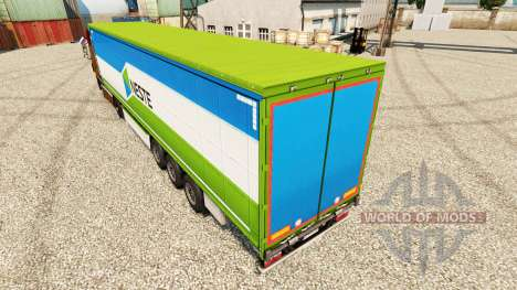 Neste pele para reboques para Euro Truck Simulator 2
