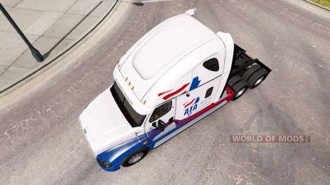 Pele A. T. Um trator Freightliner Cascadia para American Truck Simulator