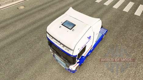 Pele para Mammut trator Scania para Euro Truck Simulator 2