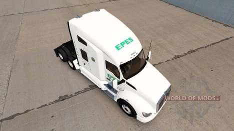 Epes Transporte de pele para Kenworth T680 trato para American Truck Simulator