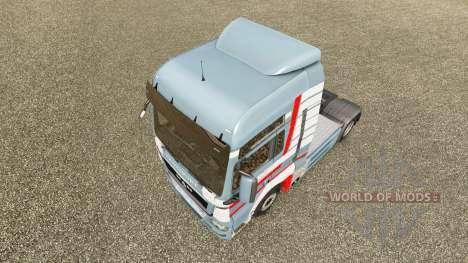 Pele A. Ebner no trator HOMEM para Euro Truck Simulator 2