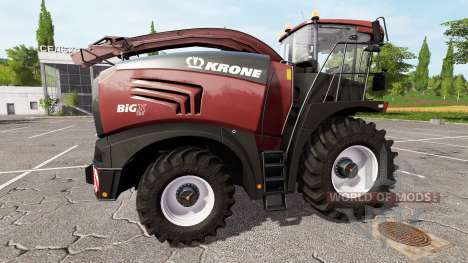 Krone BiG X 580 tuning edition para Farming Simulator 2017