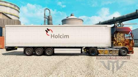 Holcim pele para reboques para Euro Truck Simulator 2