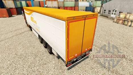 Pele EUROCEMENT para reboques para Euro Truck Simulator 2