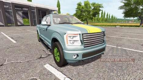 Lizard Pickup TT v1.1 para Farming Simulator 2017