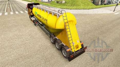 Pele Nosta Gruppe, cimento semi-reboque para Euro Truck Simulator 2