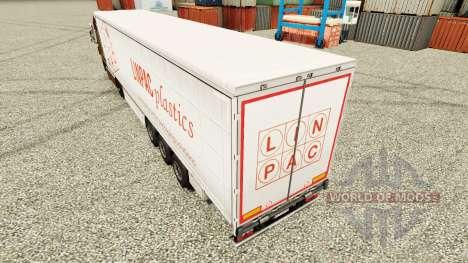 Pele Linpac Plásticos para reboques para Euro Truck Simulator 2