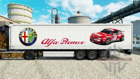 Pele Alfa Romeo Esporte na semi para Euro Truck Simulator 2