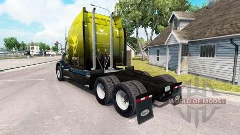 Pele Instinto no trator Peterbilt 579 para American Truck Simulator