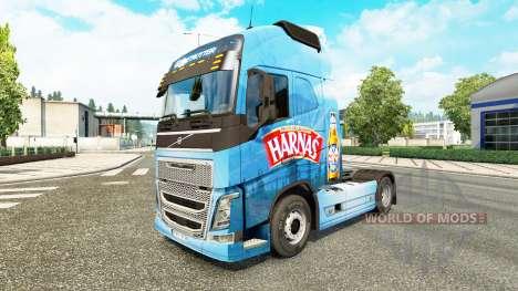 Harnas pele para a Volvo caminhões para Euro Truck Simulator 2