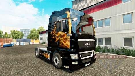 Pele Fames para trator HOMEM para Euro Truck Simulator 2