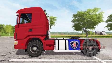 Scania 124L 440 agrar para Farming Simulator 2017
