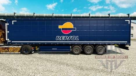 A Repsol v2 pele para reboques para Euro Truck Simulator 2