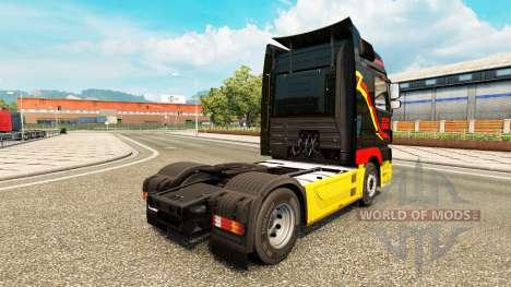 A Pirelli para a pele do caminhão Mercedes-Benz para Euro Truck Simulator 2