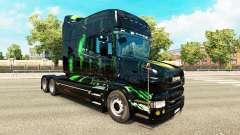 Monster Energy pele para a Scania T unidade de tracionamento para Euro Truck Simulator 2