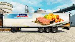 Bofrost pele para reboques para Euro Truck Simulator 2