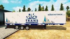 Semi-reboque frigorífico Schmitz Trio de Trans para Euro Truck Simulator 2