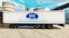 A nestlé Waters pele para reboques para Euro Truck Simulator 2