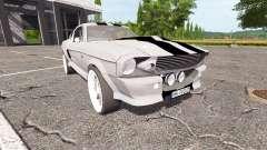 Ford Mustang Shelby GT500 Eleanor v1.1 para Farming Simulator 2017