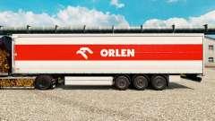 Pele Orlen para reboques para Euro Truck Simulator 2