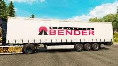 Pele Spedition Bender na semi para Euro Truck Simulator 2