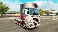 A pele da Copa do Mundo de 2014, no tractor Scania para Euro Truck Simulator 2