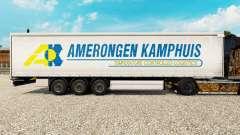 Pele Amerongen Kamphuis em uma cortina semi-reboque para Euro Truck Simulator 2