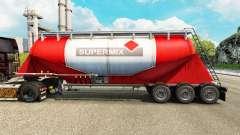 Pele Supermix cimento semi-reboque para Euro Truck Simulator 2